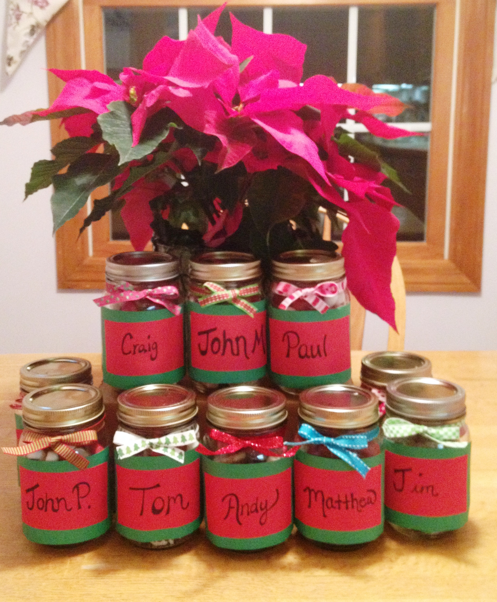Christmas Gifts For Coworkers. Top Closeup Shot Jpg With Christmas ...