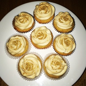 Apple & Salted Caramel Cupcakes