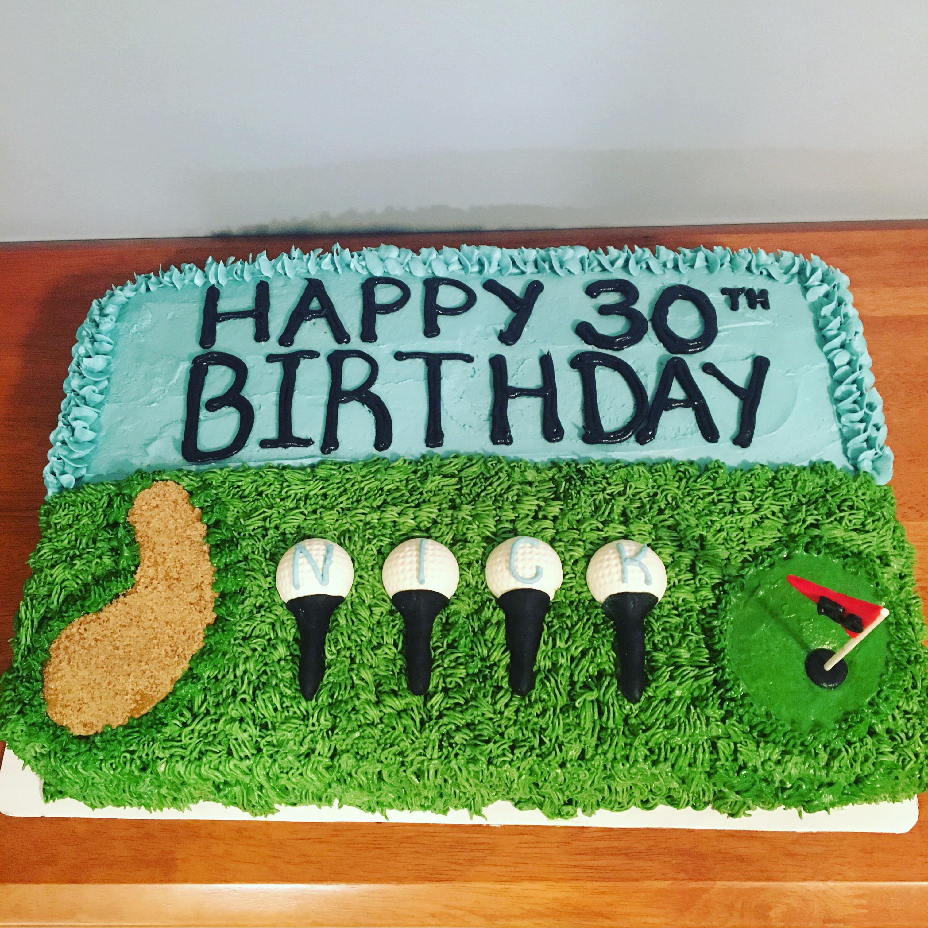 Golf Cake2