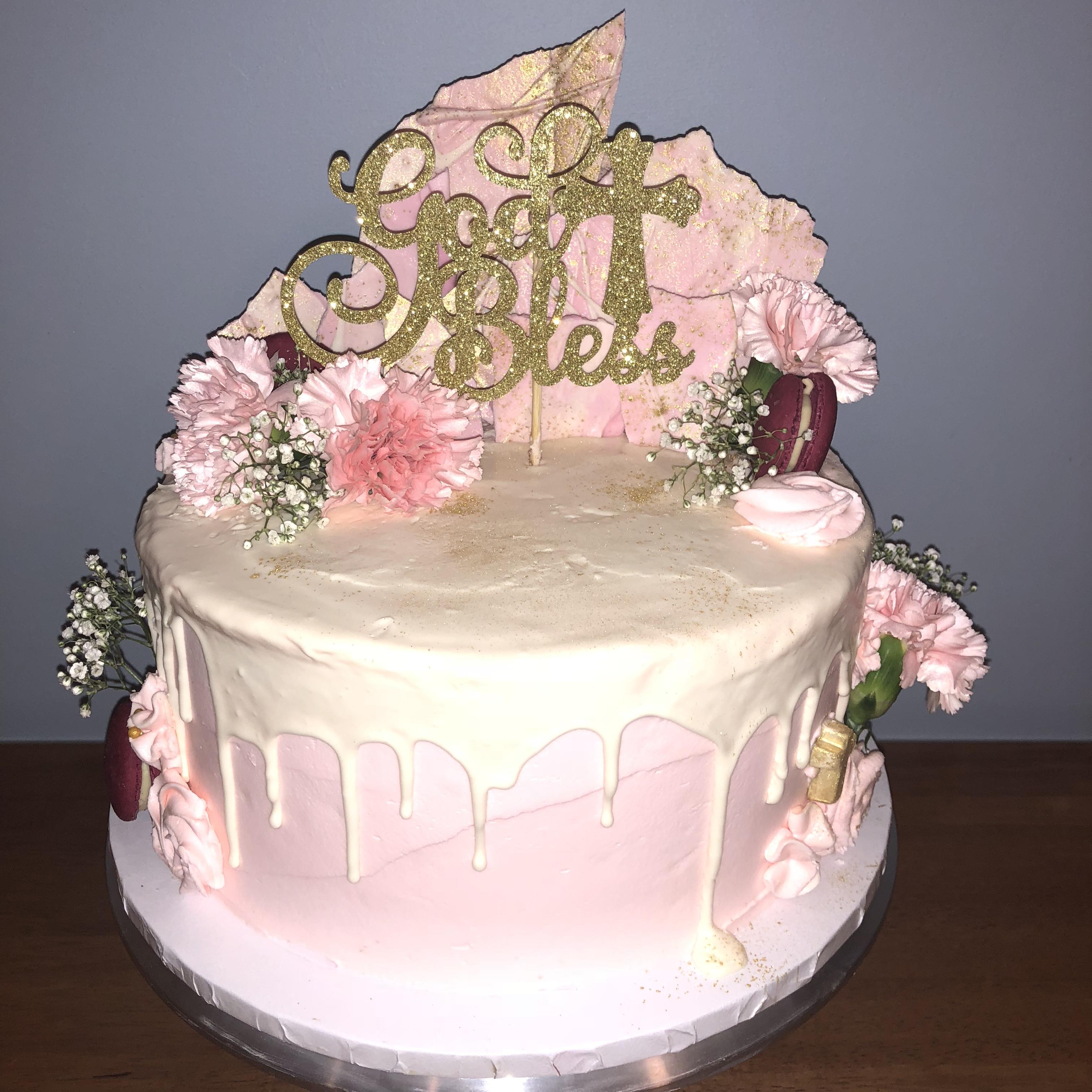 Christening CakeDrip