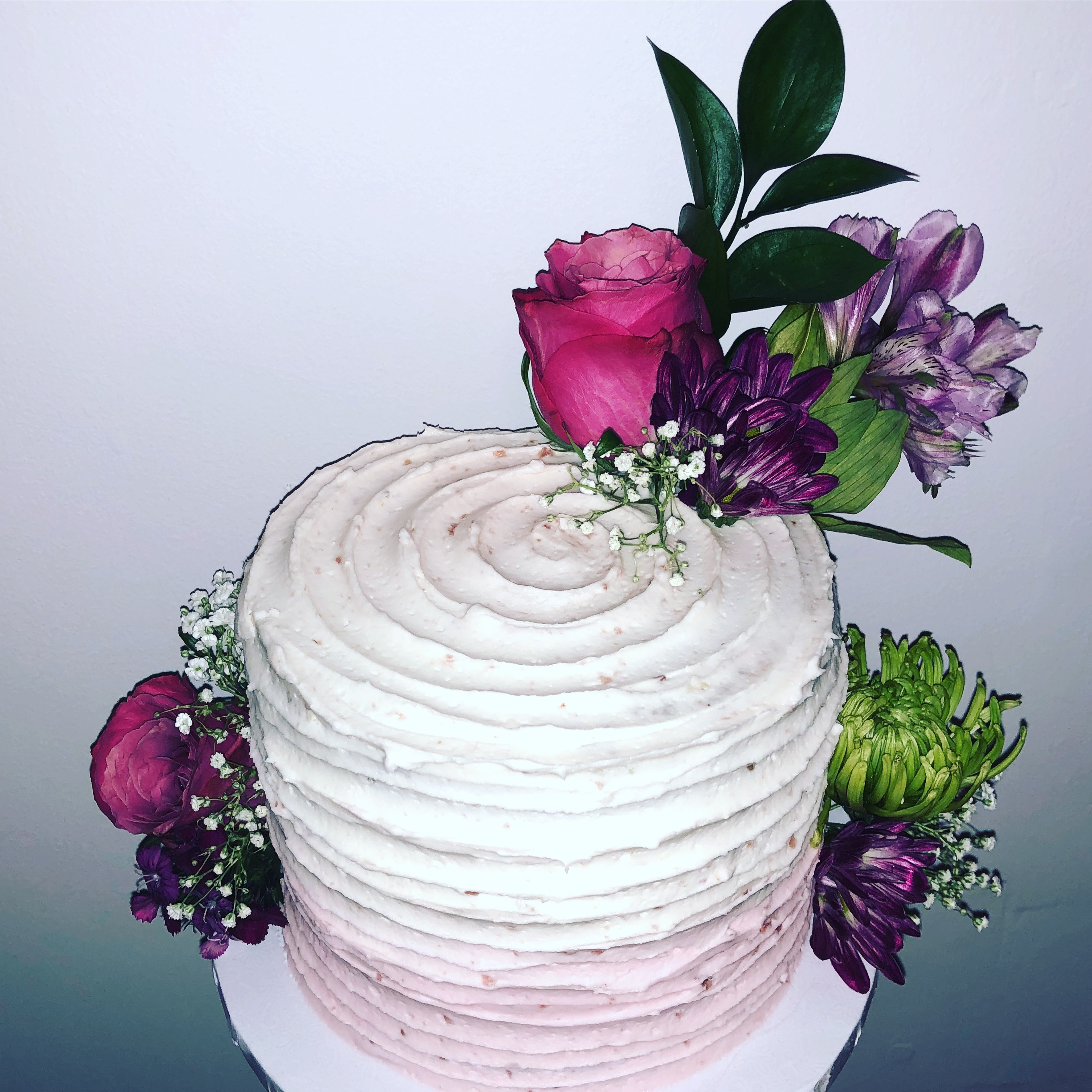 Rasberry FlowerCake